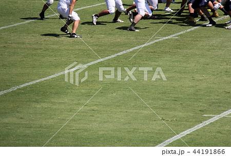 アメリカンフットボール フィールド 44191866
