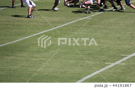 アメリカンフットボール フィールド 44191867