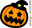 ハロウィン かぼちゃ おばけ 44191908