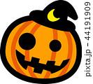 ハロウィン かぼちゃ おばけ 44191909