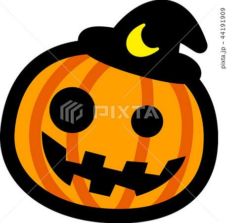 ハロウィン かぼちゃ おばけのイラスト素材 44191909 Pixta