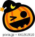 ハロウィン かぼちゃ おばけ 44191910