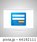 フォーム 形態 形式のイラスト 44192111