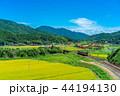 里山 列車 風景の写真 44194130