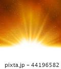 星 金色 黄金色のイラスト 44196582