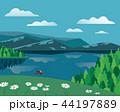 景色 風景 緑のイラスト 44197889