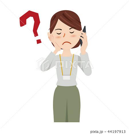 ビジネス 女性 カジュアル ビジネスウーマン スマホ 44197913