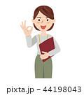 ビジネス 女性 カジュアル オフィスカジュアル スタッフ 44198043