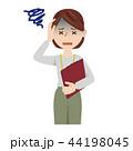 ビジネス 女性 カジュアル オフィスカジュアル スタッフ 44198045