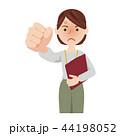 ビジネス ビジネスウーマン ベクターのイラスト 44198052