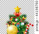 クリスマス 樹木 樹のイラスト 44198760