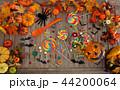 ハロウィン カボチャ お菓子の写真 44200064