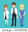 医師 医者 チームのイラスト 44200592