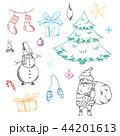 クリスマス デザイン 柄のイラスト 44201613