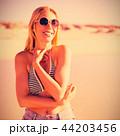 女 女性 幸せの写真 44203456