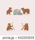 動物 くま クマのイラスト 44205839