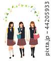 教育 女の子 女子のイラスト 44205933