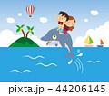 いるか イルカ 海豚のイラスト 44206145