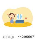 ベビー 赤ちゃん 赤ん坊のイラスト 44206607