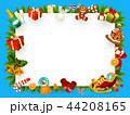 クリスマス プレゼント 贈り物のイラスト 44208165