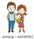 家族 ベクター 幸せのイラスト 44208562