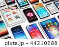 スマートフォン モバイル フォンのイラスト 44210288