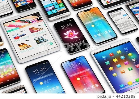Smartphones, mobile phones and tablet computers 44210288