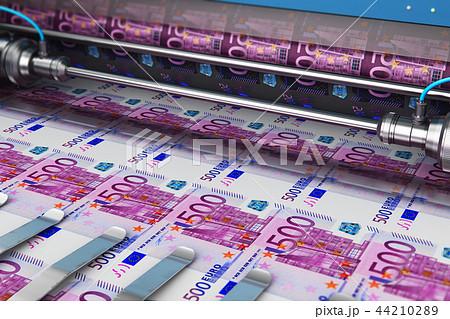 Printing 500 Euro money banknotes 44210289