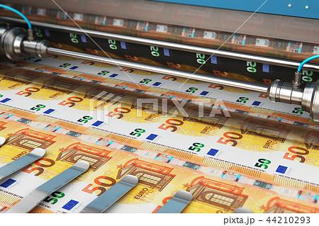 Printing 50 Euro money banknotes 44210293