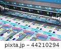 ユーロ 印刷 プリントのイラスト 44210294