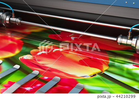 Printing photo banner large format color plotter 44210299