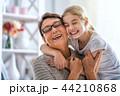 girl and her grandmother 44210868