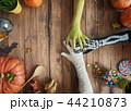 family celebrating Halloween 44210873