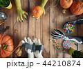 family celebrating Halloween 44210874