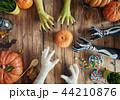 family celebrating Halloween 44210876