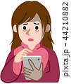 スマホ依存症 スマホ中毒 44210882