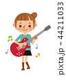 ギター 女性 44211033