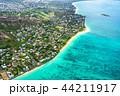 《ハワイ》ラニカイビーチ・オアフ島《航空写真》 44211917