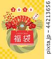 福袋 初売り 亥のイラスト 44213656