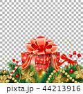 クリスマス リボン モミのイラスト 44213916