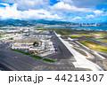 《ハワイ》ホノルル国際空港・オアフ島《航空写真》 44214307