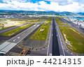 《ハワイ》ホノルル国際空港・オアフ島《航空写真》 44214315