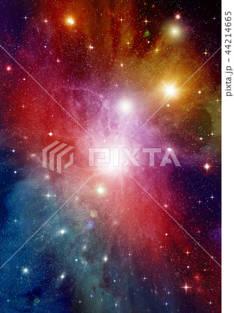 galaxy in a free space 44214665
