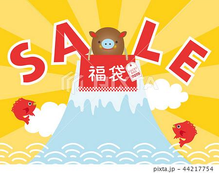 2019年亥年 福袋広告用バナー 44217754