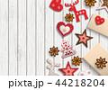 クリスマス バックグラウンド 背景のイラスト 44218204