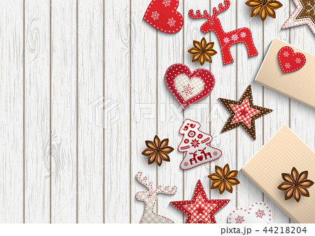 Christmas background, small scandinavian styled 44218204
