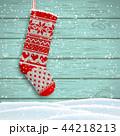 靴下 クリスマス 吊るすのイラスト 44218213
