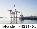 朝の港 44218491