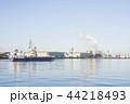 朝の港 44218493