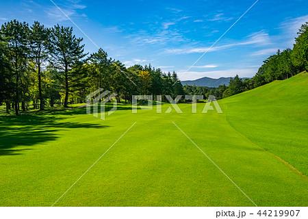 ゴルフ場 ゴルフコース フェアウェイ 44219907